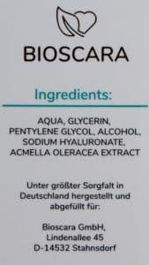 Bioscara Hyaluron Serum im Test 2020 - Testsieger mit 1,32 » 2