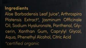 Satin Naturel Aloe Vera Gel Inhaltsstoffe - Beitragsbild 2