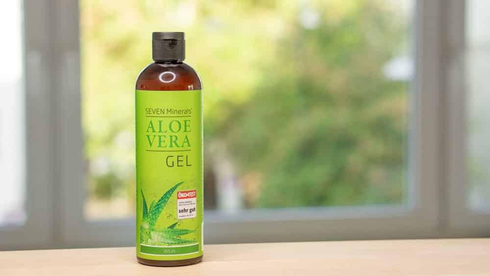 Seven Minerals Aloe Vera Gel Test - Beitragsbild 3