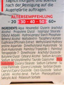 Diadermine Lift Plus Augencreme Testbericht Inhaltsstoffe - Beitragsbild
