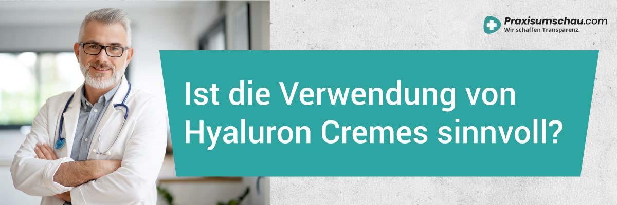 Hyaluronsäure Creme Test Ist die Verwendung von Hyaluron Cremes sinnvoll?