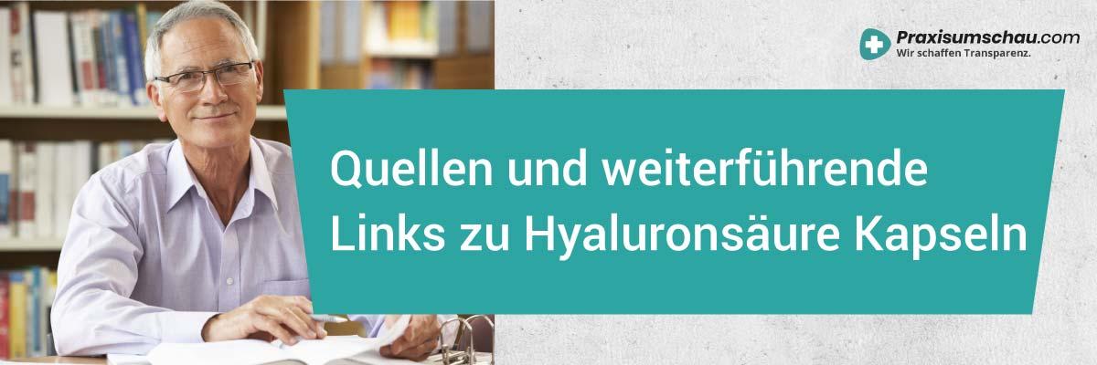 Hyaluronkapseln im Test Hyaluronsäure Kapseln Test Links und Quellen
