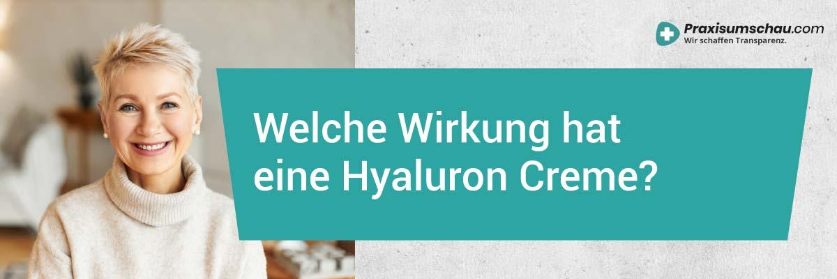 Welche Wirkung hat eine Hyaluron Creme Hyaluron Creme Test 2020