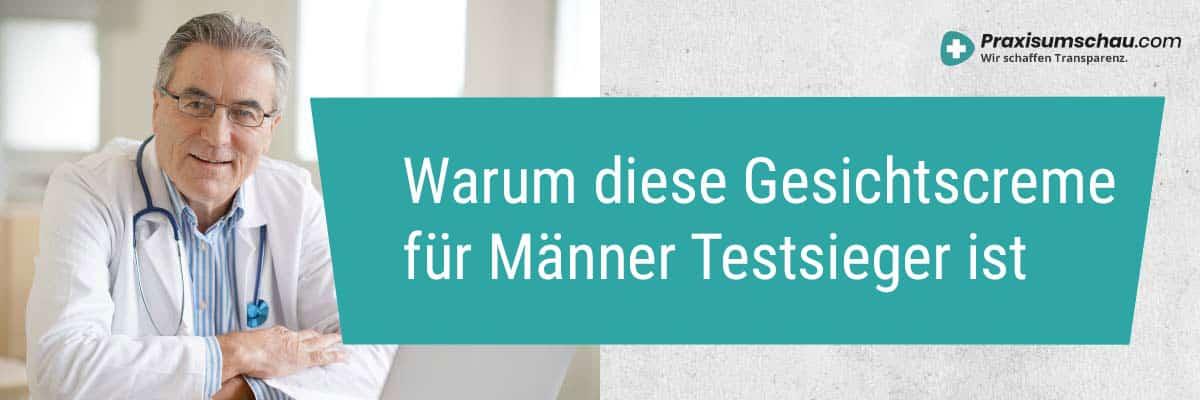 Warum ist diese Gesichtscreme für Männer Testsieger?