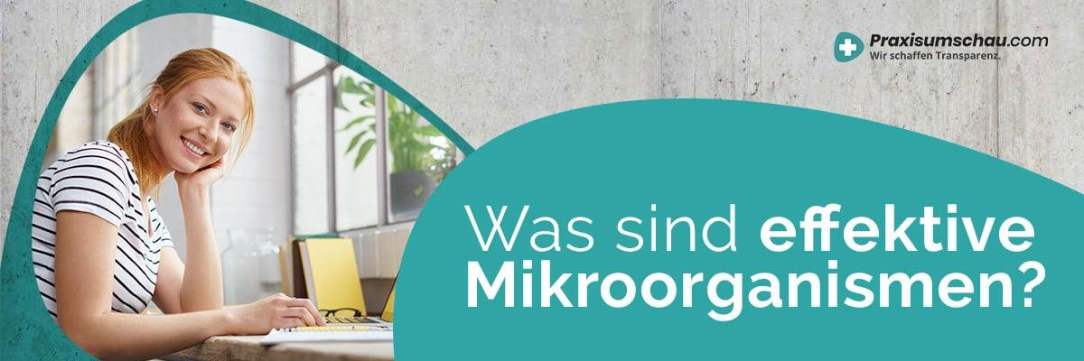 Was sind Effektive Mikroorganismen