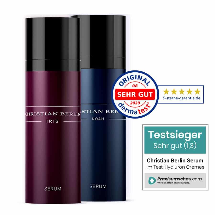 Christian Berlin Hyaluron Anti Aging Testsieger